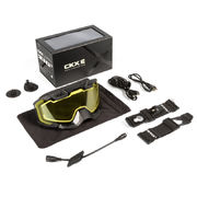 CKX Goggle 210° Heated Black/yellow Lens