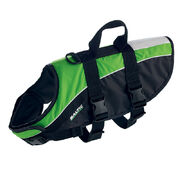 Baltic Mascot pet buoyancy aid vest green/black