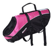Baltic Mascot pet buoyancy aid vest pink/black