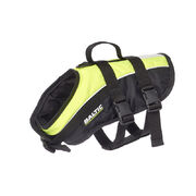 Baltic Mascot pet buoyancy aid vest UV-yellow/black