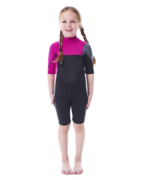 JOBE Boston Shorty 2mm Pink Wetsuit Youth