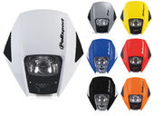 Polisport Exura headlight orange