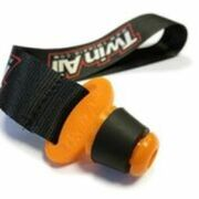Twin Air Exhaust Plug Mini, Dia 18mm to 21mm, (with Strap)