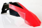 Circuit Universal Supermoto front fender STEALTH black/red