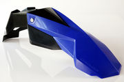 Circuit Universal Supermoto front fender STEALTH black/blue