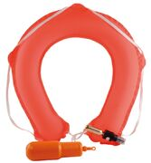 horseshoe self-infl. lifebuoy