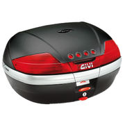 Givi 46 ltr. topcase with black embossed cover