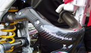 PRE-ORDER PRODUCT PCR Exhaustpipe protection 4T RM-Z250 07-09