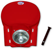 UFO Universal headlight veteran MX/Enduro 78-88 Red