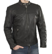 Sweep Leatherjacket Avenger 2, black