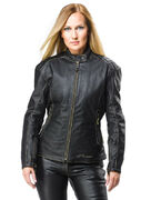 Sweep Leatherjacket Cara Lady, black