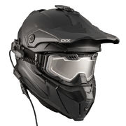 CKX Helmet + Goggles with electric lens TITAN  Matt black