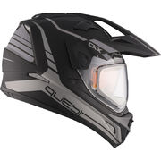 CKX Helmet QUEST RSV Straightline with electric visor Matt grey