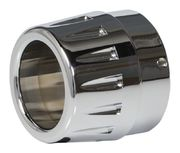 PRE-ORDER PRODUCT End-cap chrome for Rage muffler