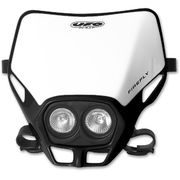 UFO Twins headlight Black 001 12V 35/W