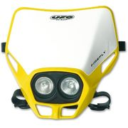 UFO Twins headlight Twins Yellow 101 12V 35/W