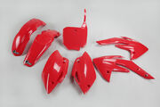UFO Plastic Kit 5-parts Red CRF150 07-