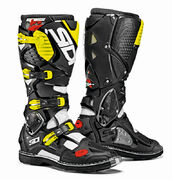 SIDI Crossfire 3 MX Boots white/black/fl yellow