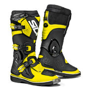 Sidi MX Boot Flame Junior, fluo yellow/black