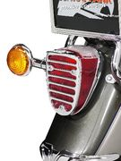 Highway Hawk taillight grill