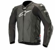 Alpinestars Leather Jacket Missile Tech-Air Black