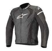 *Alpinestars Leather jacket Jaws v3 Black