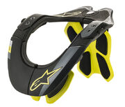 Alpinestars Bionic Neck Support Black/Yellow