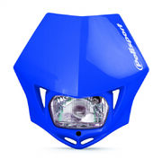 Polisport MMX headlight blue