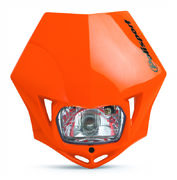 Polisport MMX headlight orange