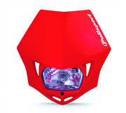 Polisport MMX headlight red