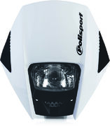 Polisport Exura headlight white