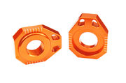 Scar Axle Blocks - Ktm Orange color