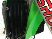AXP Radiator Braces Black Spacers Kawasaki KX250F 17-18