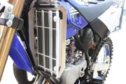 AXP Radiator Braces Black Yamaha YZ85 19-
