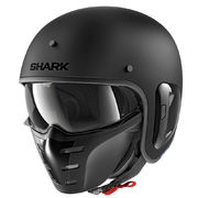 Shark S-Drak helmet, matt black