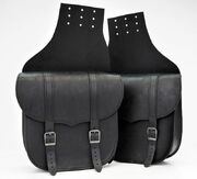 PRE-ORDER PRODUCT Saddlebag Set Throw Over Black