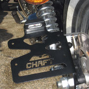 Lateral plate holder Harley Davidson