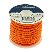 Polyester Rope orange 4,0mm 12m