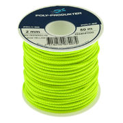 Polyester Rope neonYellow 4,0mm 12m
