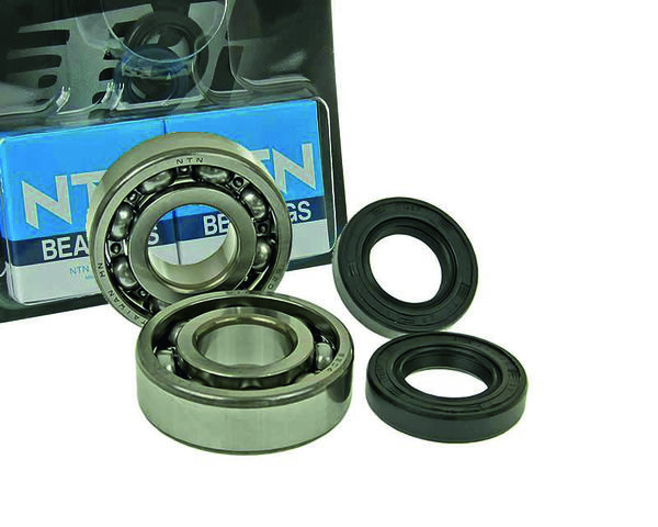 Naraku HD Crank bearings & Oilseals, Derbi Senda -05/06- / Aprilia RX/RS 06-