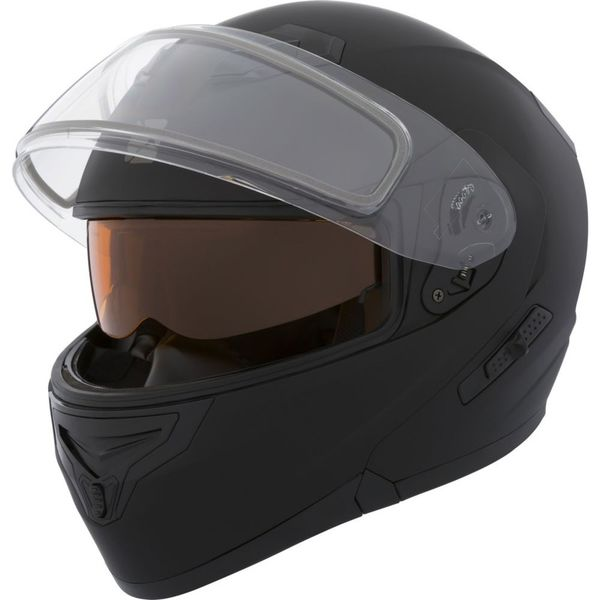 CKX Helmet, Flip-Up Flex RSV Mat Black Electrical visor