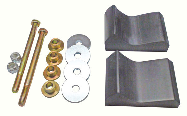 C&A PRO Mount Kit Polaris (models with trailing arm)